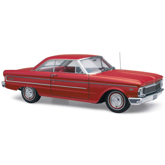 1965 FORD FALCON XP FUTURA HARDTOP RED SATIN 1:18