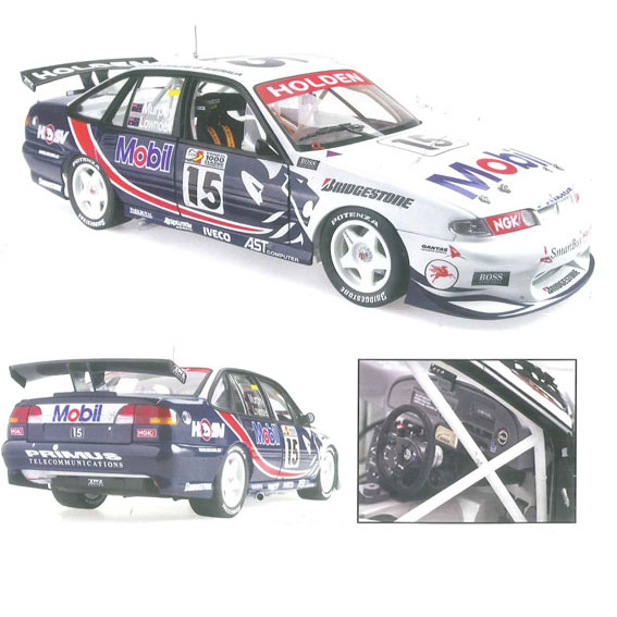 1997 HOLDEN RACING TEAM LOWNDES/MURPHY BATHURST 1000 1:18
