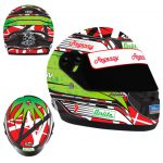 2014 JAMES COURTNEY LIMITED EDITION MINI HELMET 1:2