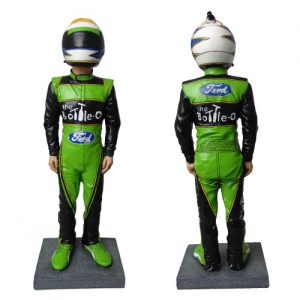 THE BOTTLE-O RACING TEAM DAVID REYNOLDS FIGURINE