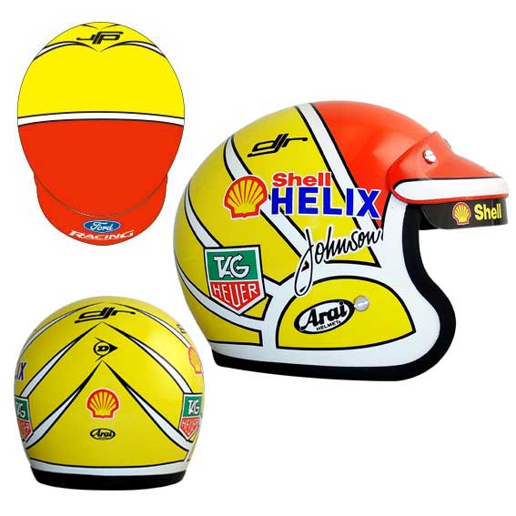 DICK JOHNSON SHELL MINI HELMET