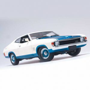 1974 Ford XA Falcon Superbird Polar White /Cosmic Blue 1:18