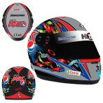 2011 KELLY RACING GREG MURPHY PEPSI MAX MINI HELMET 1:2