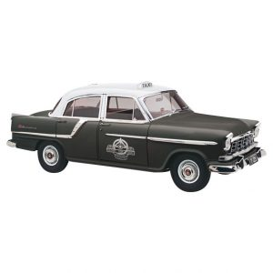 1958 HOLDEN FC SPECIAL SILVER TOP TAXI 1:18