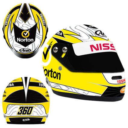 2014 JAMES MOFFAT LIMITED EDITION MINI HELMET 1:2