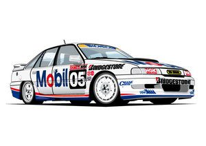 HOLDEN VN COMMODORE SS GROUP A - #05 DRIVERS: BROCK/MIEDECKE - T