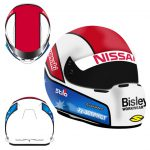 2015 NISSAN MOTORSPORT TODD KELLY MINI HELMET 1:2