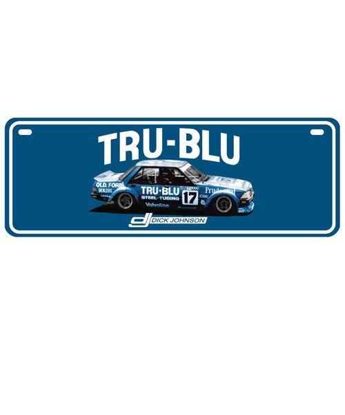 DJG18A-034_DICK_JOHNSON_TRU_BLU_CAR_NUMBER_PLATE