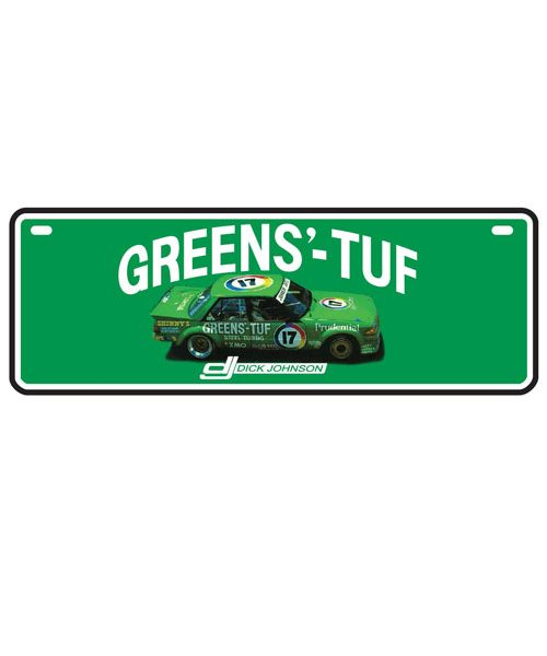 DJG18A-036_DICK_JOHNSON_GREENS_TUF_CAR_NUMBER_PLATE