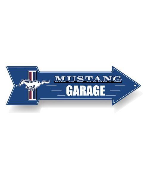 FM19A-428_Ford-Mustang-Metal-Arrow-Sign