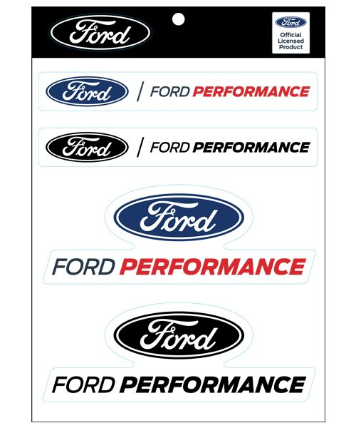 FORD PERFORMANCE STICKER SHEET