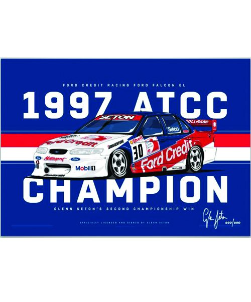 V8STG-008_GLENN_SETON_1997_CHAMPIONSHIP_WINNING_CAR_PRINT