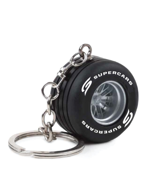 SCSR21A-026-SUPERCARS-SERIES-TYRE-KEYRING