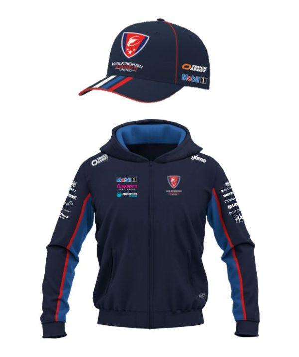 team wau bundle hoodie and cap